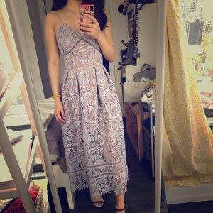 Self-portrait purple dress Size XS/S